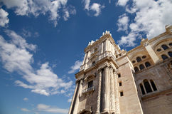 Catedral de Málaga --es una iglesia del renacimiento en la ciudad de Málaga, Andalucía, España meridional Imagen de archivo libre de regalías