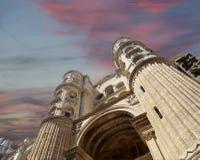 Catedral de Málaga-- es una iglesia del renacimiento en la ciudad de Málaga, Andalucía, España meridional Foto de archivo libre de regalías