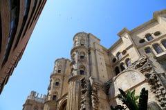 Catedral de Málaga-- es una iglesia del renacimiento en la ciudad de Málaga, Andalucía, España meridional Foto de archivo