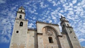 Catedral de Mérida foto de stock