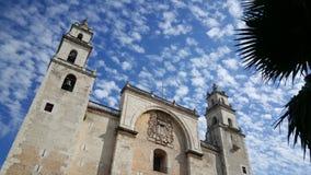 Catedral de Mérida Imagem de Stock