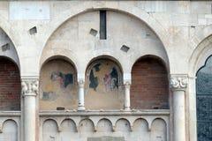 Catedral de Módena, Italia imagen de archivo