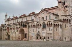 Catedral de Módena, Italia Foto de archivo libre de regalías