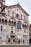 Catedral de Módena, Italia Fotografía de archivo