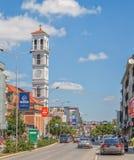 A catedral de Madre Teresa abençoada em Pristina imagem de stock royalty free