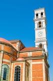 Catedral de Madre Teresa abençoada em Pristina foto de stock