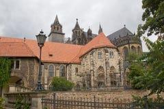 Catedral de Magdeburg Imagen de archivo libre de regalías
