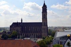 Catedral de Magdeburgo, Alemania fotografía de archivo