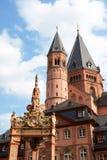 Catedral de Maguncia Fotografía de archivo