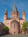 Catedral de Maguncia Foto de archivo libre de regalías