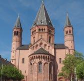 Catedral de Maguncia Imagen de archivo libre de regalías