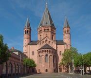 Catedral de Maguncia Fotos de archivo libres de regalías