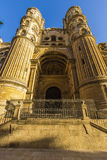 Catedral de Malaga Arkivbilder