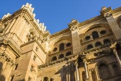 Catedral de Malaga Royaltyfria Bilder