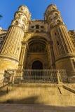 Catedral de Malaga. Catedral  Malaga, en Malaga, España Stock Images