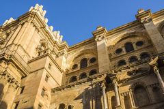 Catedral de Malaga Royalty Free Stock Images