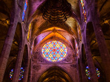 Catedral de Mallorca Imagem de Stock Royalty Free