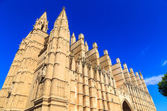 Catedral de Mallorca Royalty Free Stock Images