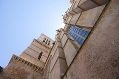 Catedral de Mallorca sul fondo del cielo, Palma de Mallorca, Spagna 30 06 2017 Fotografie Stock Libere da Diritti