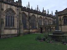 Catedral de Manchester Imágenes de archivo libres de regalías