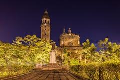 Catedral de Manila Imagenes de archivo