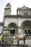 Catedral de Manila Fotografía de archivo libre de regalías