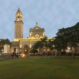 A catedral de Manila imagem de stock