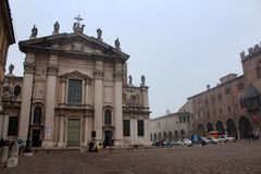 Catedral de Mantua, Mantua, Italia Fotografía de archivo libre de regalías