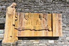Catedral de Maria Taferl del detalle Imagenes de archivo