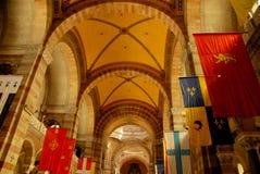 A catedral de Marselha Fotografia de Stock