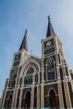 Catedral de Mary Immaculate Conception, Chanthaburi imagens de stock