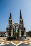 Catedral de Mary Immaculate Conception, Chanthaburi fotografia de stock royalty free