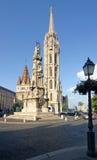 Catedral de Mathias Fotografia de Stock