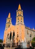 Catedral de Mazatlan Foto de archivo libre de regalías