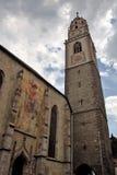 A catedral de Merano fotografia de stock