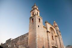 Catedral de Merida, Iucatão (México) Fotos de Stock