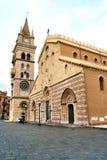 Catedral de Messina Fotografia de Stock Royalty Free