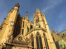 Catedral de Metz imágenes de archivo libres de regalías