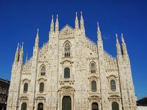 Catedral de Milán fotografía de archivo libre de regalías