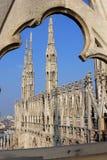 Catedral de Milão Foto de Stock Royalty Free