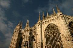 Catedral de Milão Foto de Stock