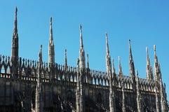 Catedral de Milão (abóbada, domo) Imagens de Stock