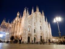 Catedral de Milão, domo. Italy foto de stock