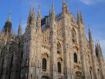 Catedral de Milão, Italy Imagem de Stock Royalty Free