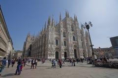 Catedral de Milano Imagen de archivo libre de regalías
