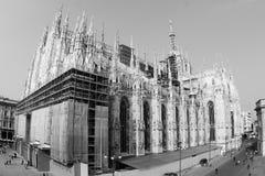 Catedral de Milano Imágenes de archivo libres de regalías
