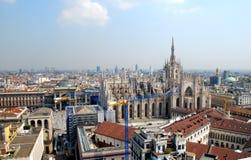 Catedral de Milano Fotos de archivo libres de regalías