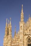 Catedral de Milano Foto de archivo libre de regalías