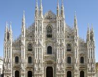 Catedral de Milano Fotografía de archivo