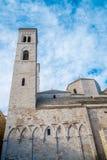 Catedral de Molfetta Fotos de archivo